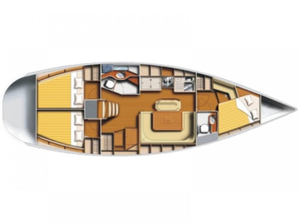 Boat rental Poncin Harmony 42 in Karaca on Samboat