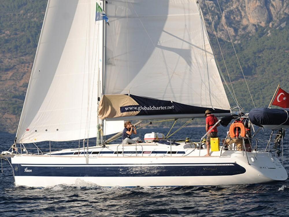 Rental Sailboat in Karaca - Poncin Harmony 42