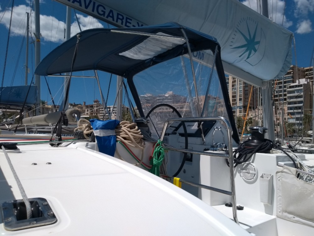 Hire Catamaran with or without skipper Lagoon Marina Naviera Balear