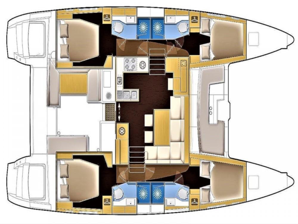 Rental Catamaran in Sant Antoni de Portmany - Lagoon Lagoon 450