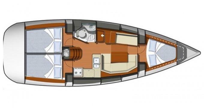 Rental Sailboat in Zadar - Jeanneau Sun Odyssey 36i