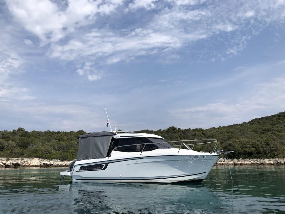Boat rental Grad Zadar cheap Merry Fisher 695