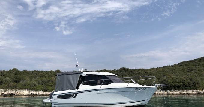 Boat rental Zadar cheap Merry Fisher 695
