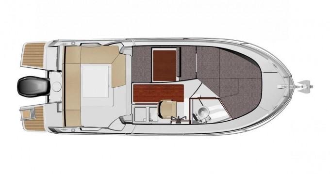 Rental yacht Zadar - Jeanneau Merry Fisher 695 on SamBoat
