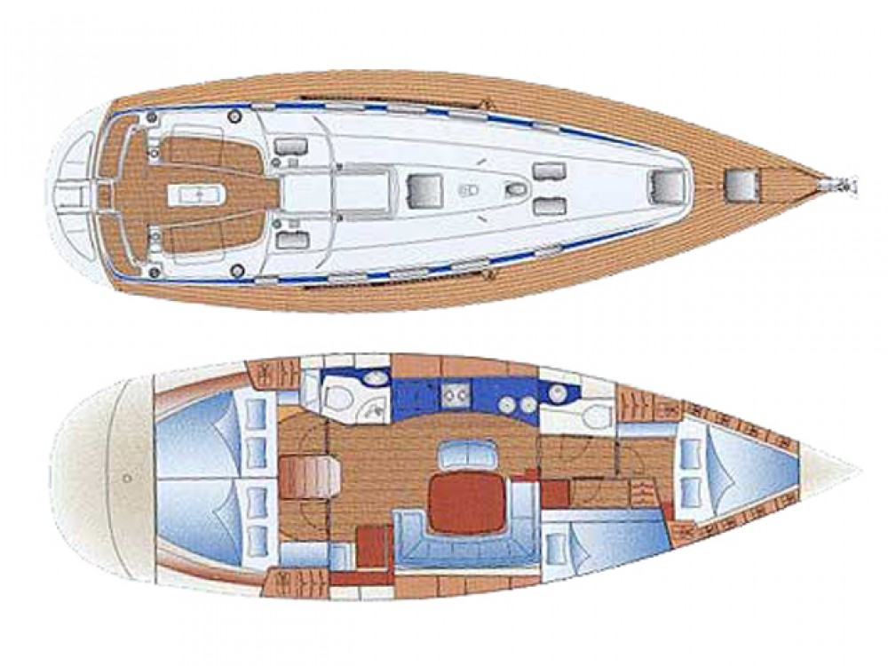 Hire Sailboat with or without skipper Bavaria