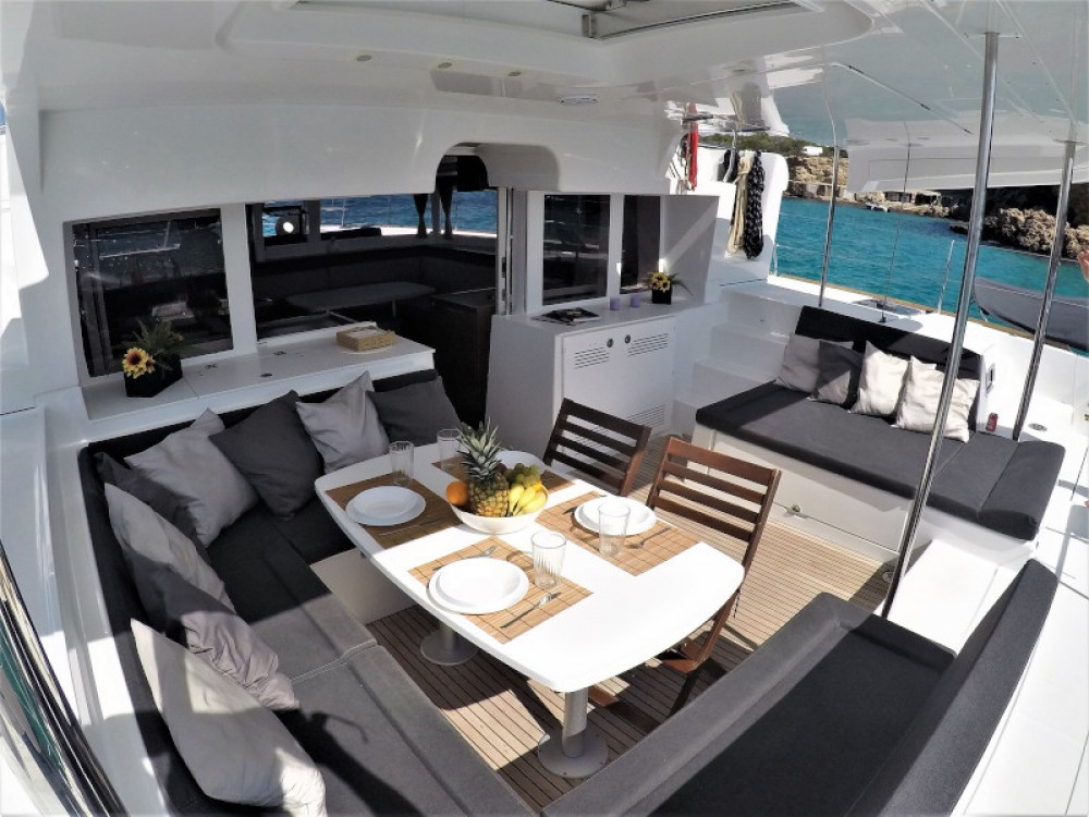 Catamaran for rent Sant Antoni de Portmany at the best price