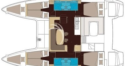 Rental yacht Sant Antoni de Portmany - Lagoon Lagoon 40 on SamBoat