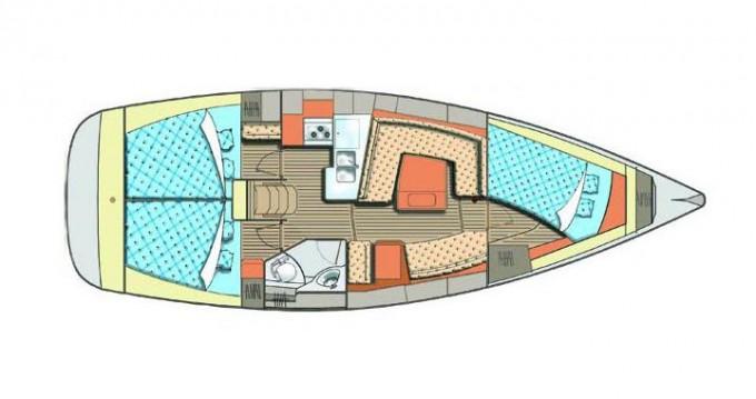 Rental Sailboat in Kröslin - Elan Impression 384