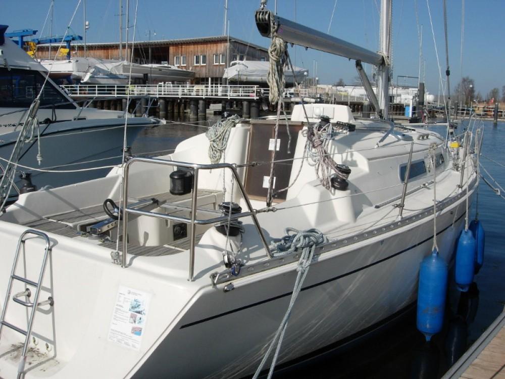 Rental Sailboat in Kröslin - Hanse Hanse 311