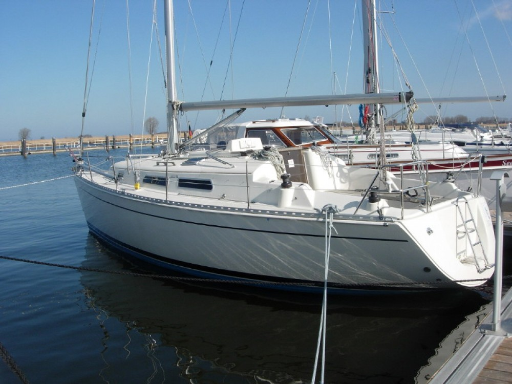 Hire Sailboat with or without skipper Hanse Kröslin