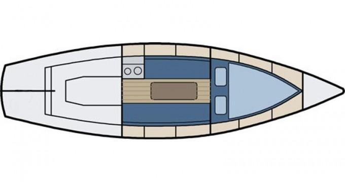 Rent a  Nordic Folkboat Kröslin