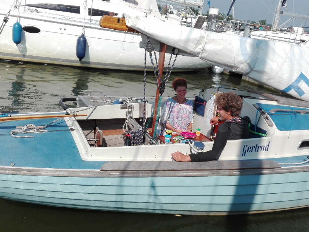 Hire Sailboat with or without skipper  Kröslin