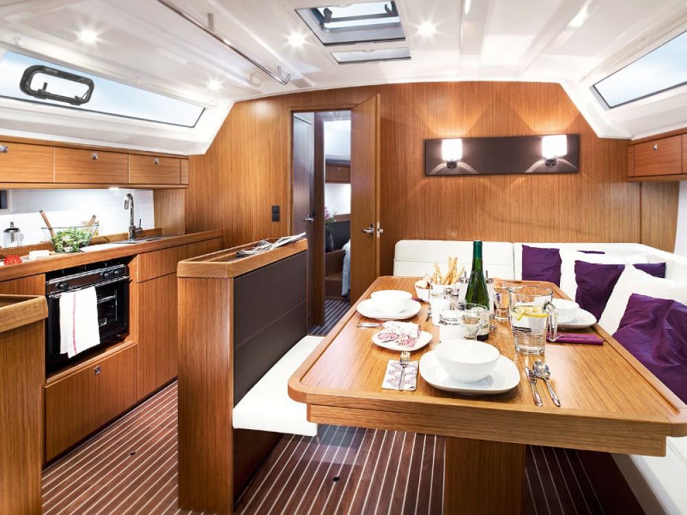 Boat rental Ponta Delgada (São Sebastião) cheap Bavaria Cruiser 46