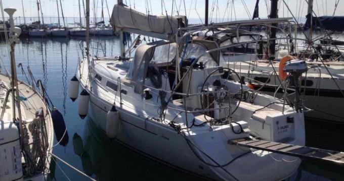 Rental Sailboat in Néos Marmarás - Hanse Hanse 342