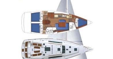Rental yacht Marina di Portorosa - Bénéteau Oceanis 40 on SamBoat