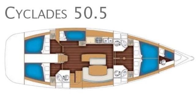Hire Sailboat with or without skipper Bénéteau Marina di Portorosa