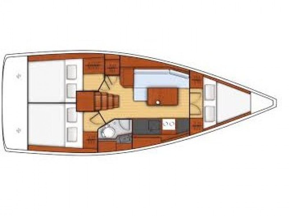 Rental yacht Furnari - Bénéteau Oceanis 35.1 on SamBoat