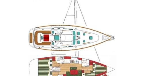 Boat rental Marina di Portorosa cheap Oceanis 423 Exclusive