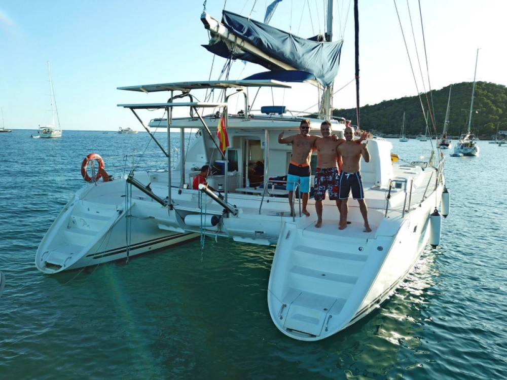 Hire Catamaran with or without skipper Lagoon Sant Antoni de Portmany