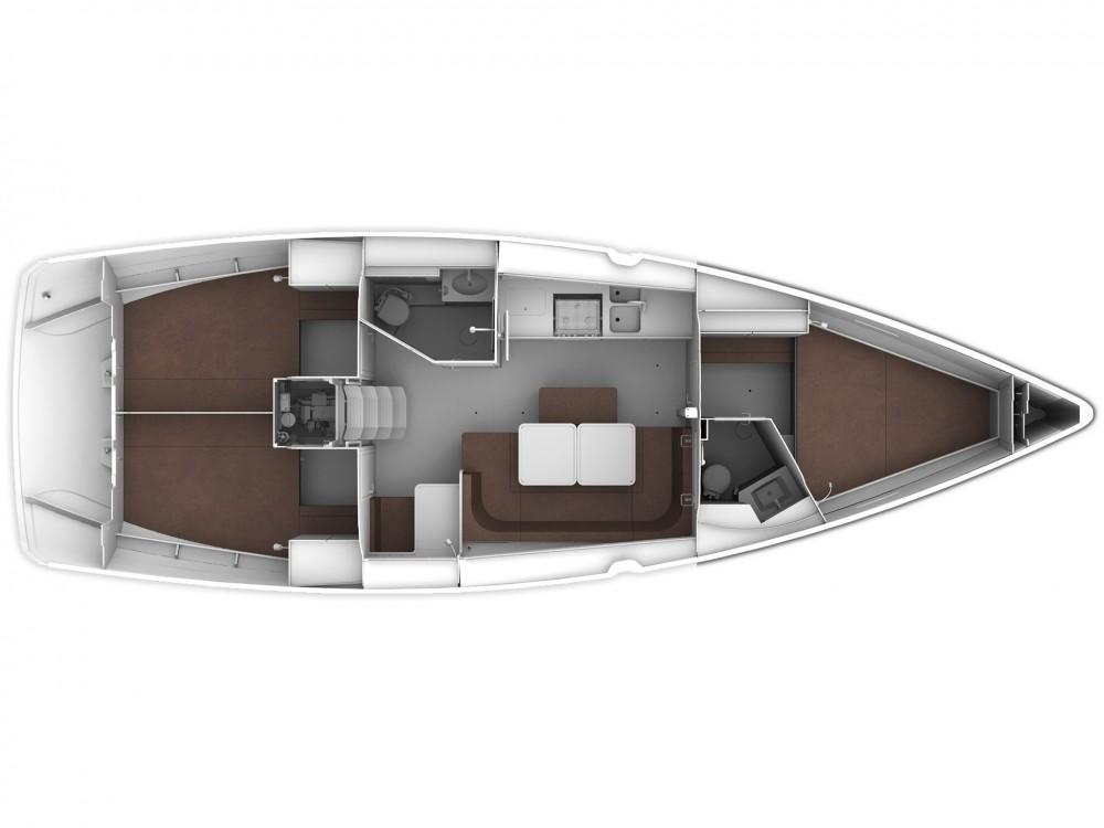 Boat rental Cascais e Estoril cheap Bavaria 41 Cruiser Style