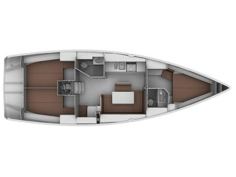 Rental yacht Gouvia - Bavaria Cruiser 40 on SamBoat