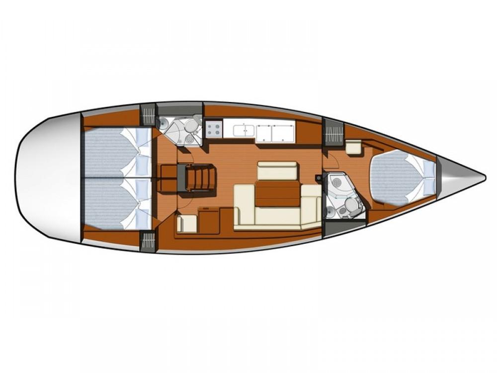 Rental yacht Kontokali - Jeanneau Sun Odyssey 44 i on SamBoat