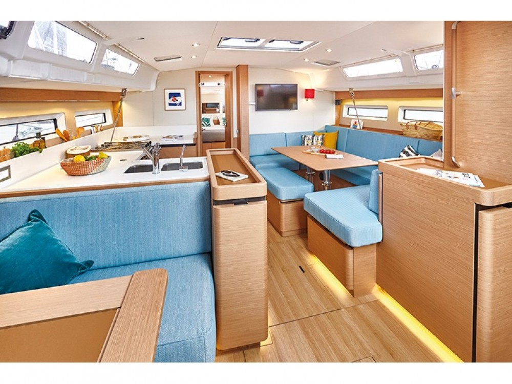 Jeanneau Sun Odyssey 490 between personal and professional Kontokali