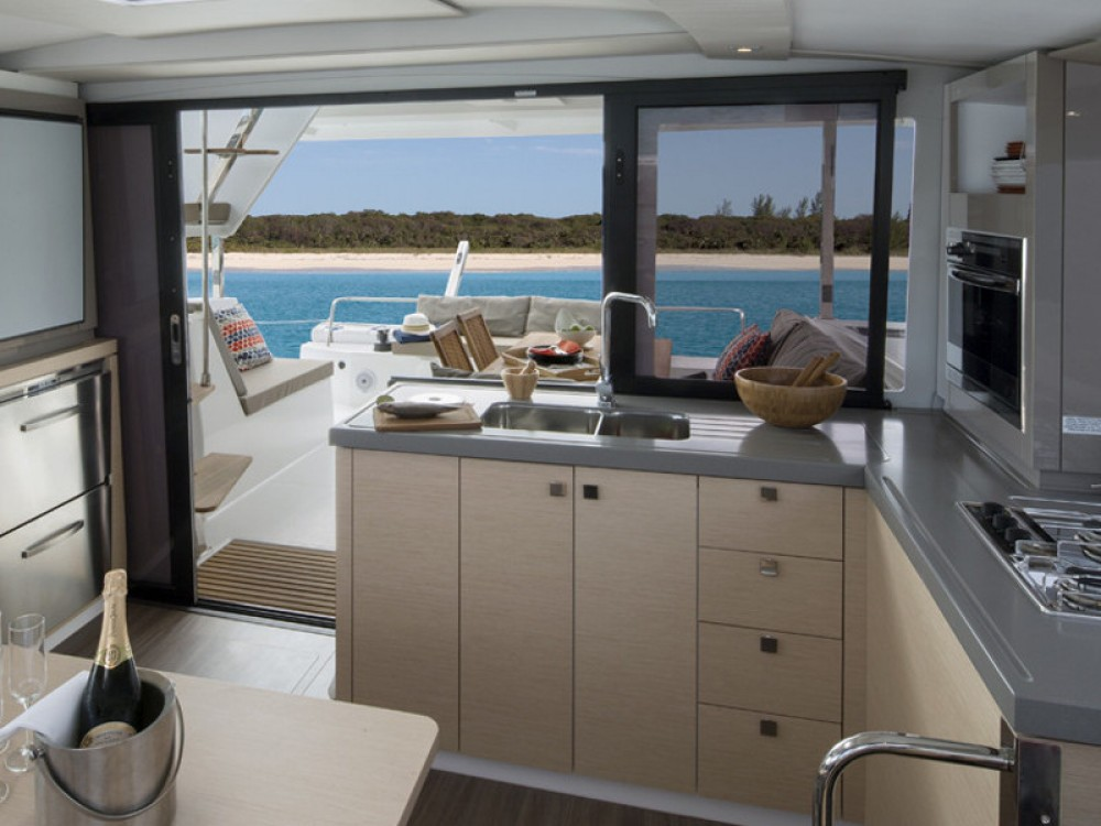 Fountaine Pajot Lucia 40 between personal and professional Portimão