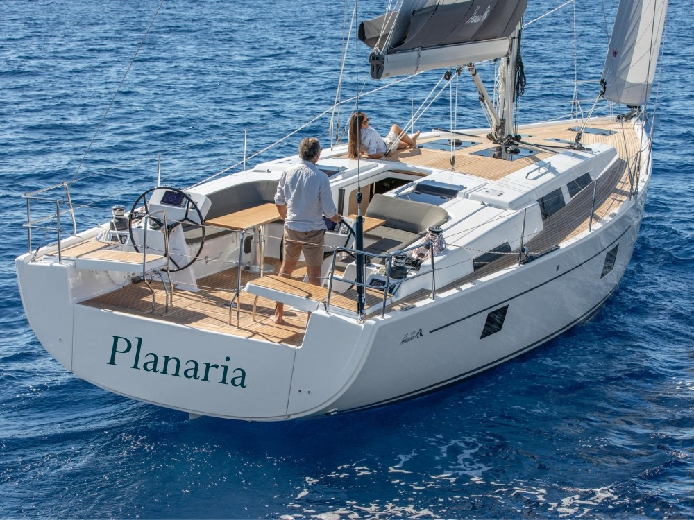 Hanse Hanse 508 (A/C, Watermaker, Generator) between personal and professional Volos Municipality