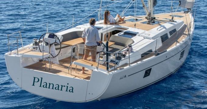 Boat rental Hanse Hanse 508 (A/C, Watermaker, Generator) in Volos on Samboat