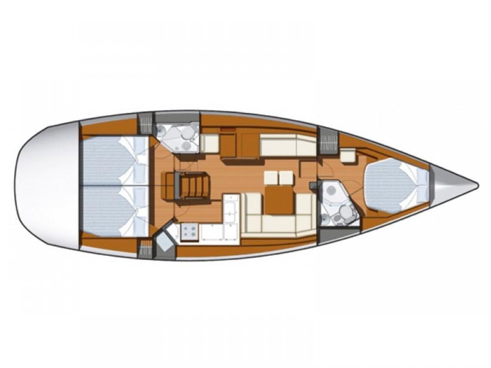 Rent a Jeanneau Sun Odyssey 45DS Marina Kornati