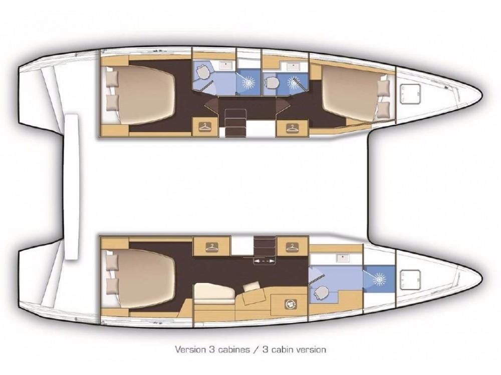 Rental yacht Sant Antoni de Portmany - Lagoon Lagoon 42 Version 3 Cabinas Full Equipe on SamBoat