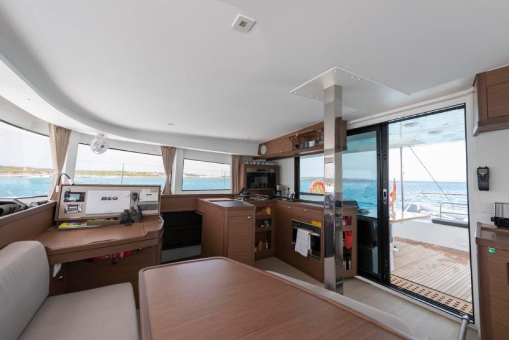 Boat rental Sant Antoni de Portmany cheap Lagoon 42 Version 3 Cabinas Full Equipe