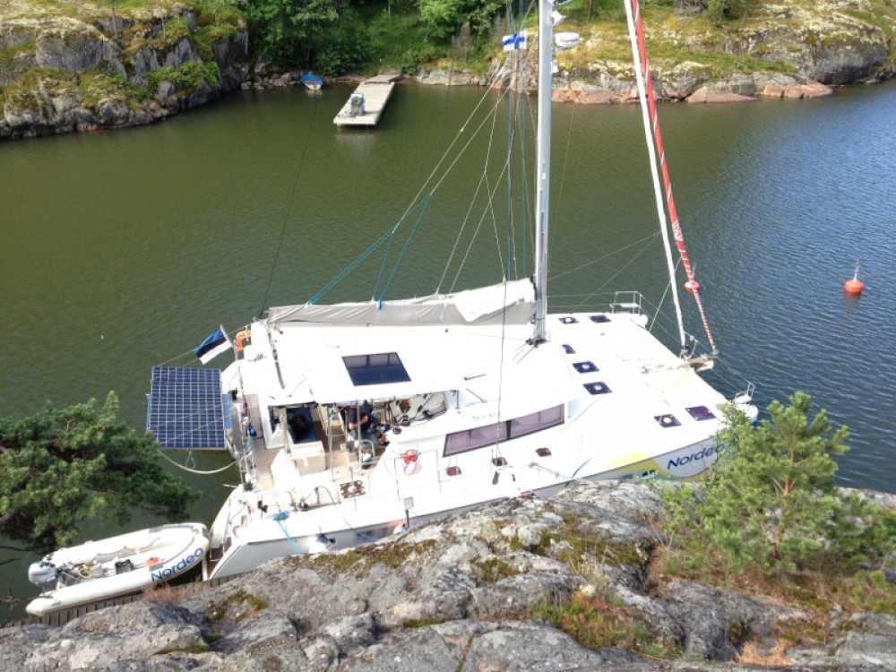 Catamaran for rent Tallinn at the best price