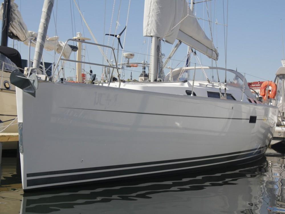 Boat rental Tallinn cheap Hanse 430