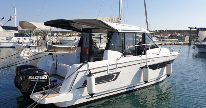 Boat rental Zadar cheap Merry Fisher 895