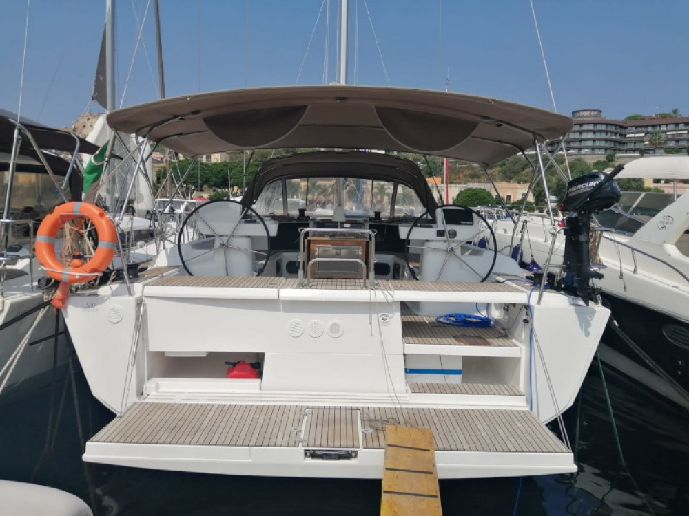 Dufour Dufour 520 Grand Large between personal and professional Milazzo