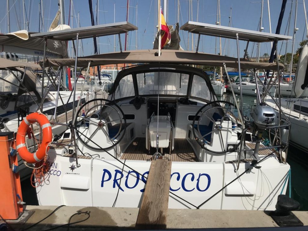 Hire Sailboat with or without skipper Jeanneau El Rosario