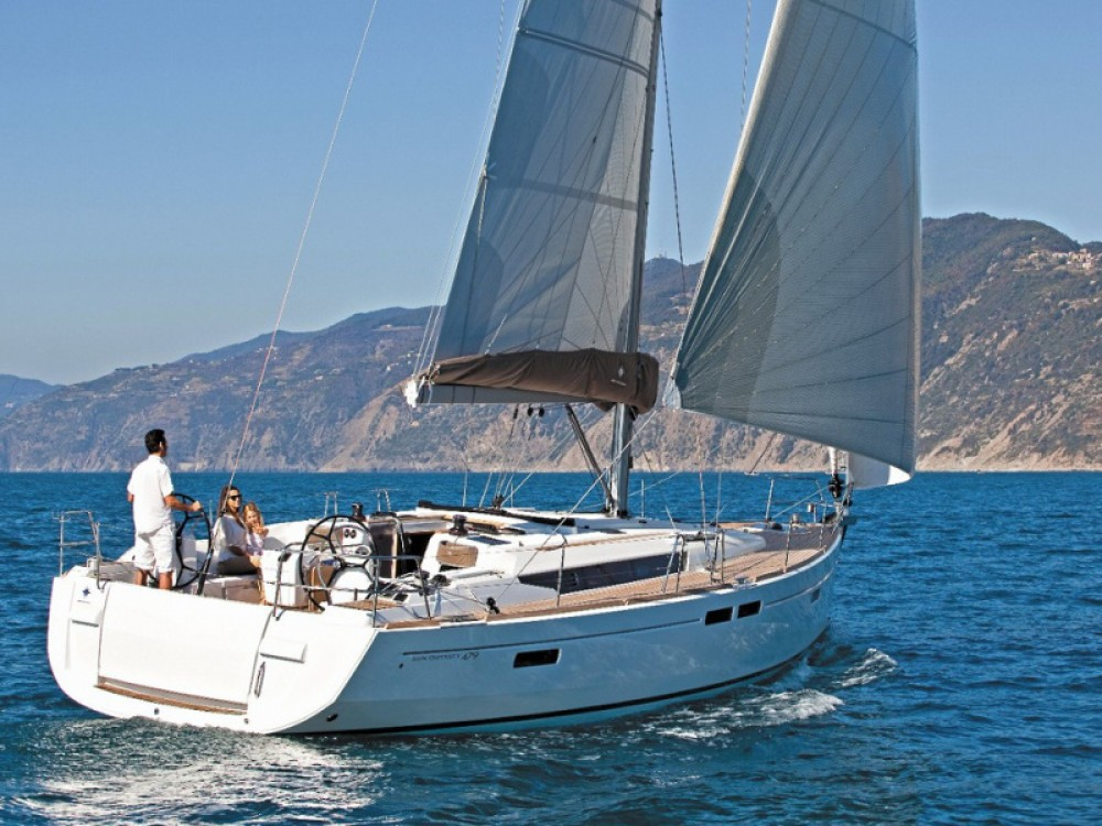 Boat rental Las Palmas de Gran Canaria cheap Sun Odyssey 519