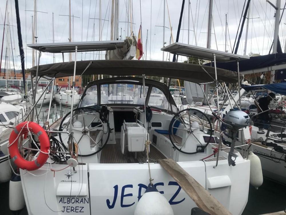 Jeanneau Sun Odyssey 519 between personal and professional Las Palmas de Gran Canaria
