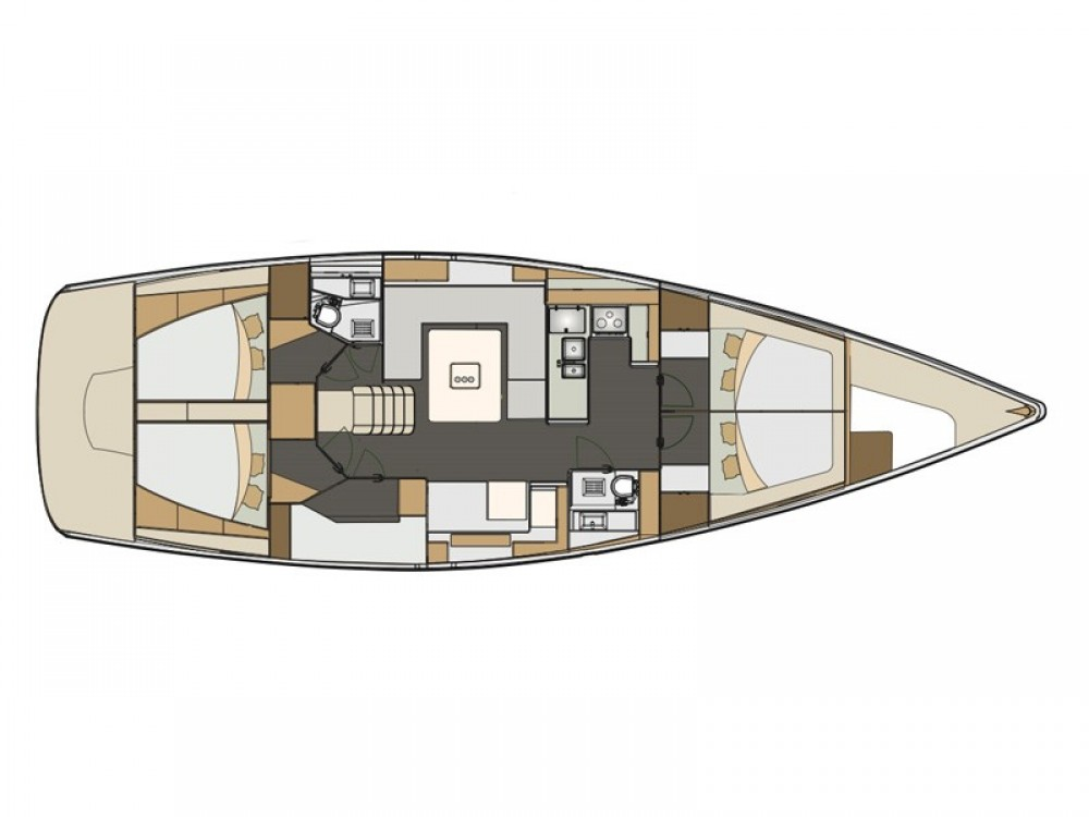 Rental Sailboat in Espagne - Elan Elan 50 Impression