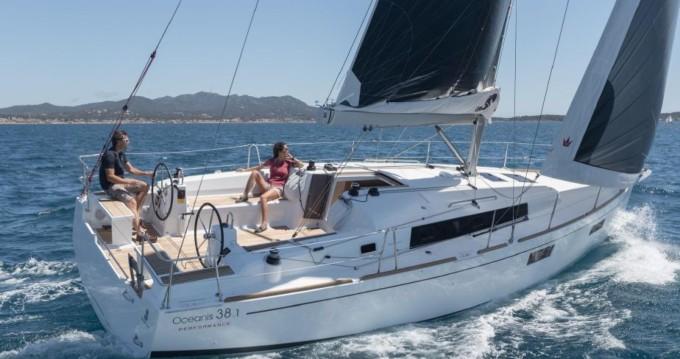 Boat rental Mahón cheap Oceanis 38 Cruiser