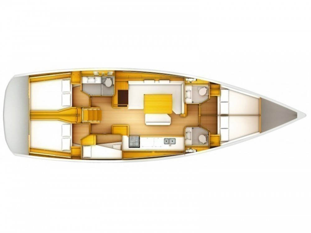 Jeanneau Sun Odyssey 519 between personal and professional