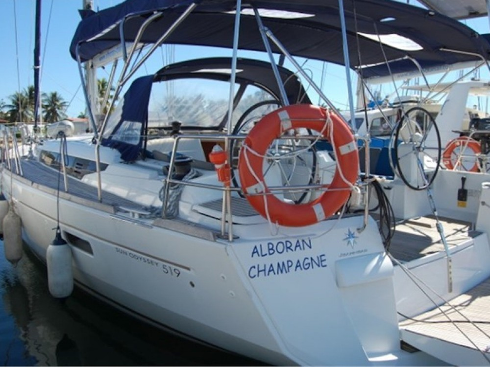 Rental yacht  - Jeanneau Sun Odyssey 519 on SamBoat