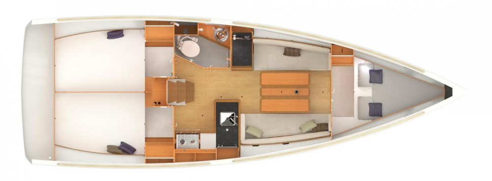 Jeanneau Sun Odyssey 349 between personal and professional Ploče