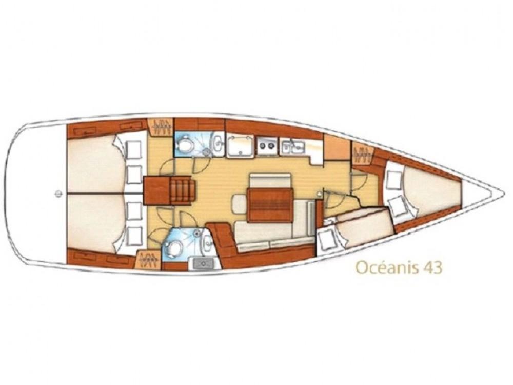 Rental Sailboat in Palma - Bénéteau Oceanis 43-4