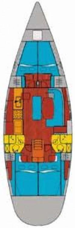 Boat rental Palma cheap Oceanis 461