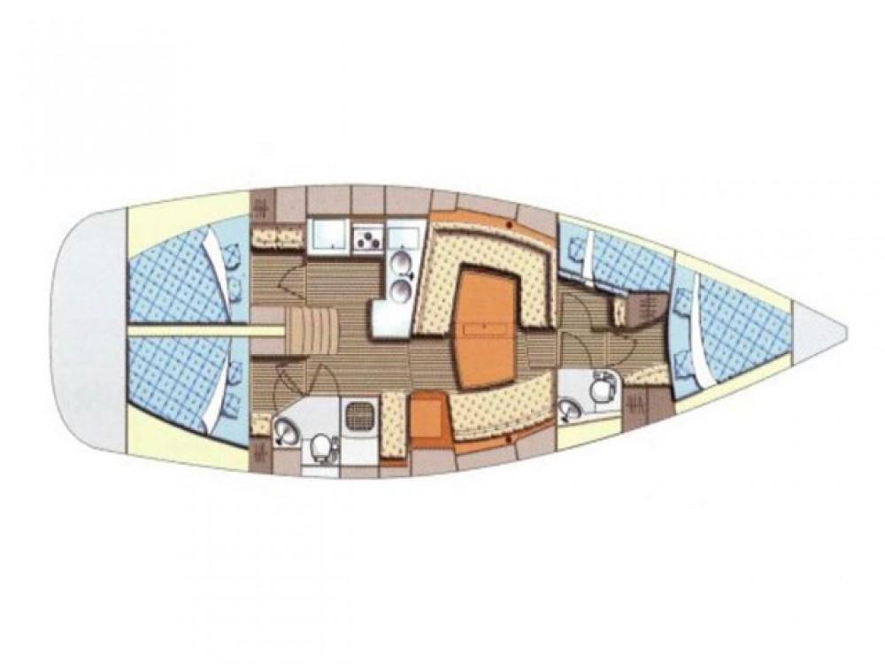 Boat rental Palma cheap Elan 434 Impression