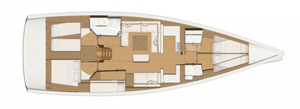Hire Sailboat with or without skipper Dufour Alimos Marina