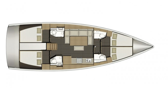 Dufour Dufour 460GL between personal and professional Lefkas Marina